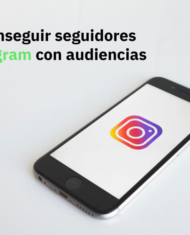 Cómo conseguir seguidores en Instagram con audiencias